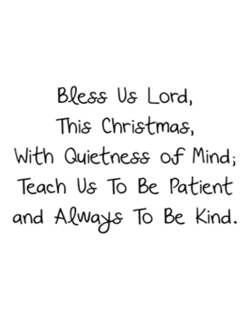 GRS2083 Bless Us Lord This Christmas