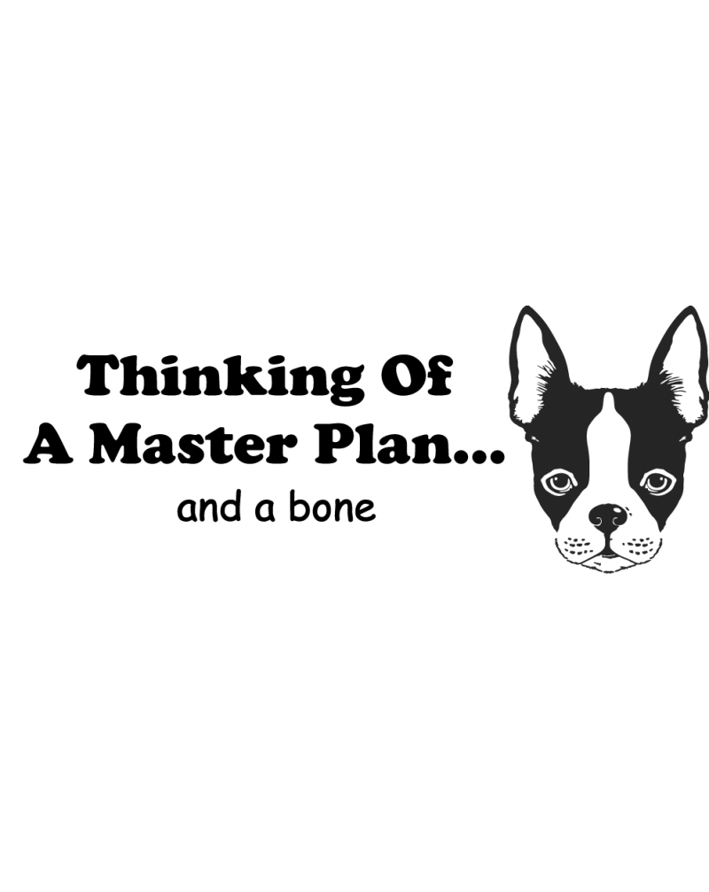 GRS2114 Thinking Of A Master Plan And A Bone
