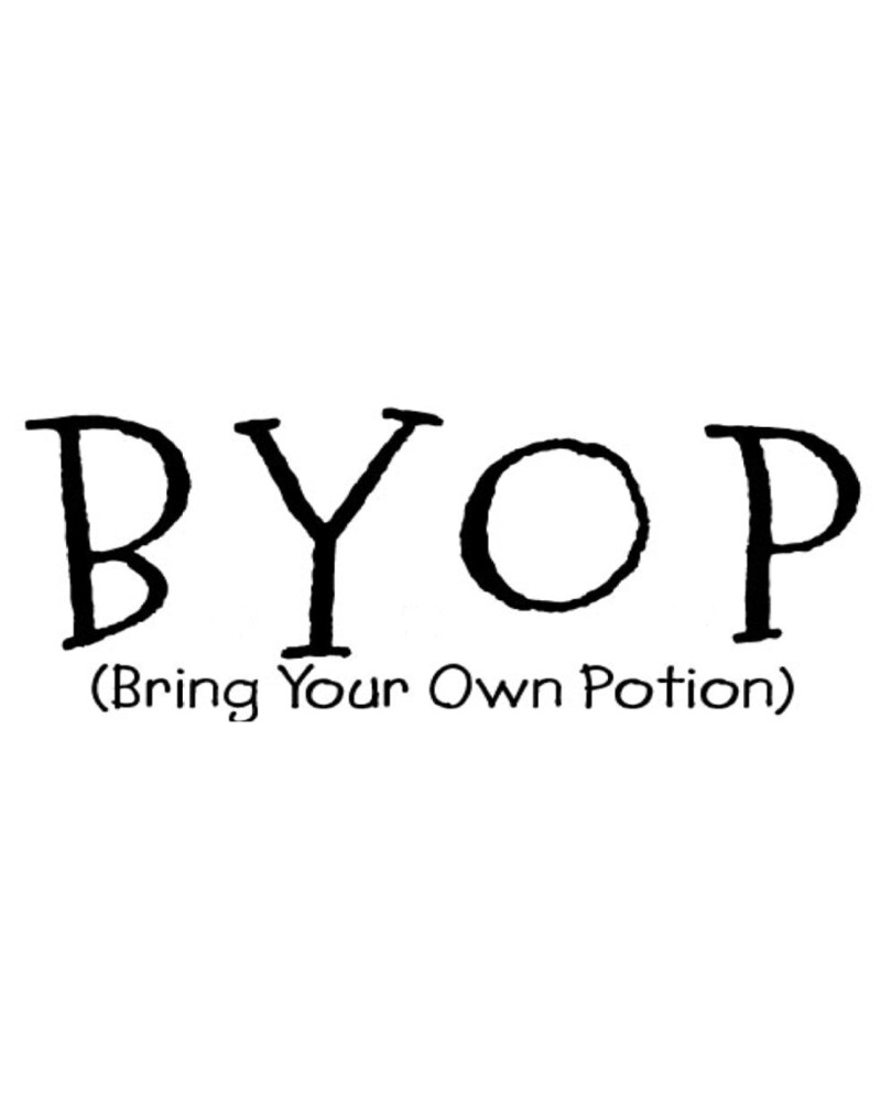 WW1029 Bring Your Own Potion