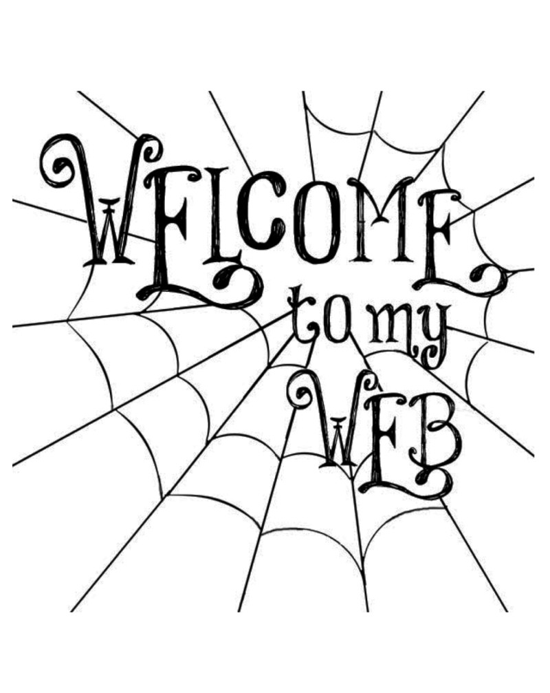 WW1031 Welcome To My Web