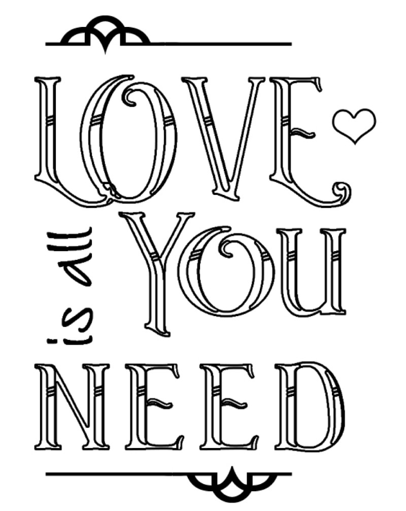 WW1052 Love Is All You Need