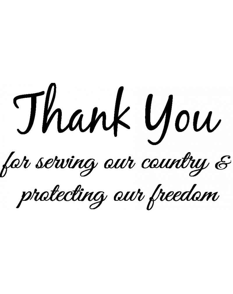 GRS2065 Thank You For Serving Our Country