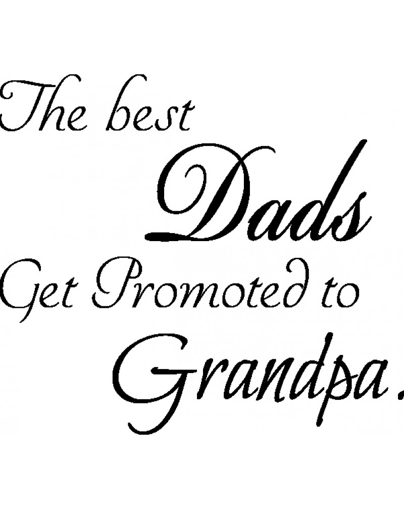 GRS2068 The Best Dads Get Promoted To Grandpa
